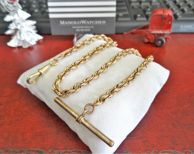 Gold Filled Pocket Watch Chain 19.43 grams!