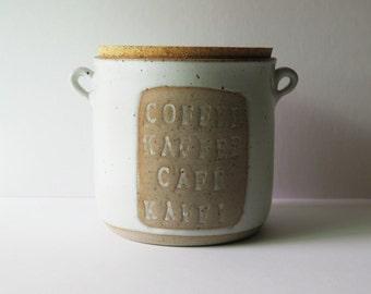 Kaffi Speckled Canister