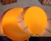 Set vintage Ikea Lamps Drömminge balloon and Smila Mane moon