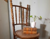 Antic Thonet style Bentwood kitchen chair for decoration