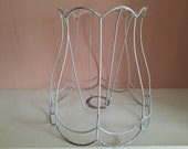 Antic lamp shade frame lampshade in very good condition
