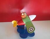 Airplane spotlight children's room