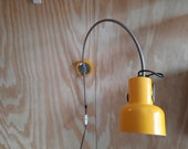 Vintage Archspot Archlamp Wall Lamp Yellow