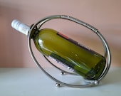 Elegant stainless steel Wine Bottle holder vintage