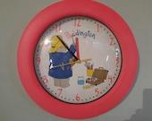 Paddington's unique bear clock vintage