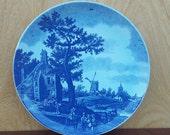 Unique Delft blue wall board, 33 cm