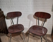 Mid-Century Formica Chairs.