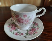 8 st. English porcelain including Royal Albert cup and dishes vintage