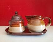 VTG brown Cream set with underboard