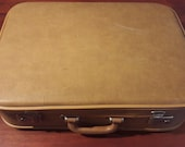 Mid-century retro KLM suitcase vintage from the 60s
