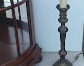 Vintage heavy bronze table amp >2 kg.