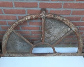 Large old hollands stable window cast iron
