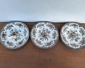 Breakfast plates Enoch Wedgwood, Oriental Pheasants, 20 cm, 3 st.