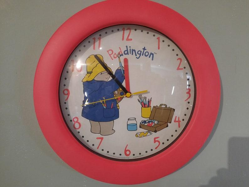 Paddington's unique bear clock vintage image 0