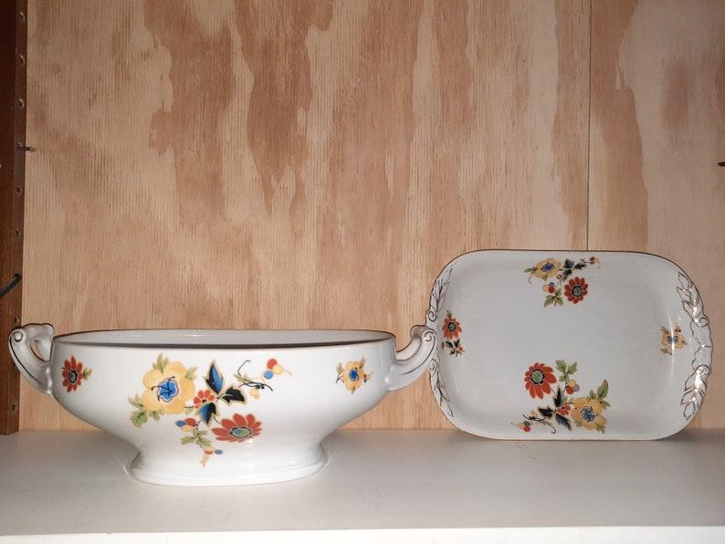 Set antique bowls from the 1920s porcelain image 0