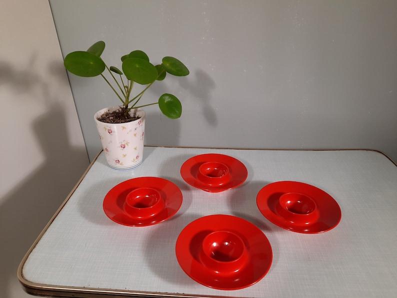 ROSTI  Mepal Melamine Vintage Iconic Dane Design Egg Cups image 0