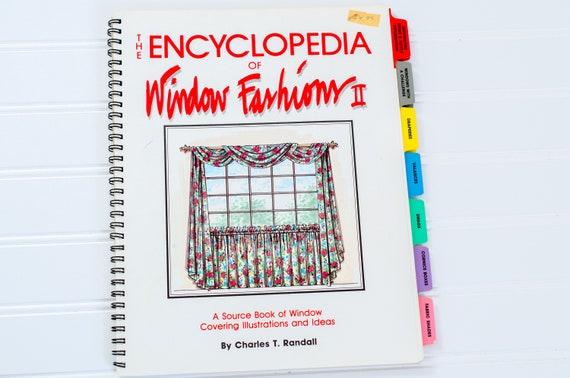 Vintage The Encyclopedia Of Window Fashions Window Treatment Etsy