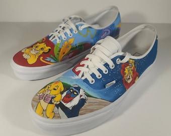 c8252a3e56 Custom Lion King Painted Shoes