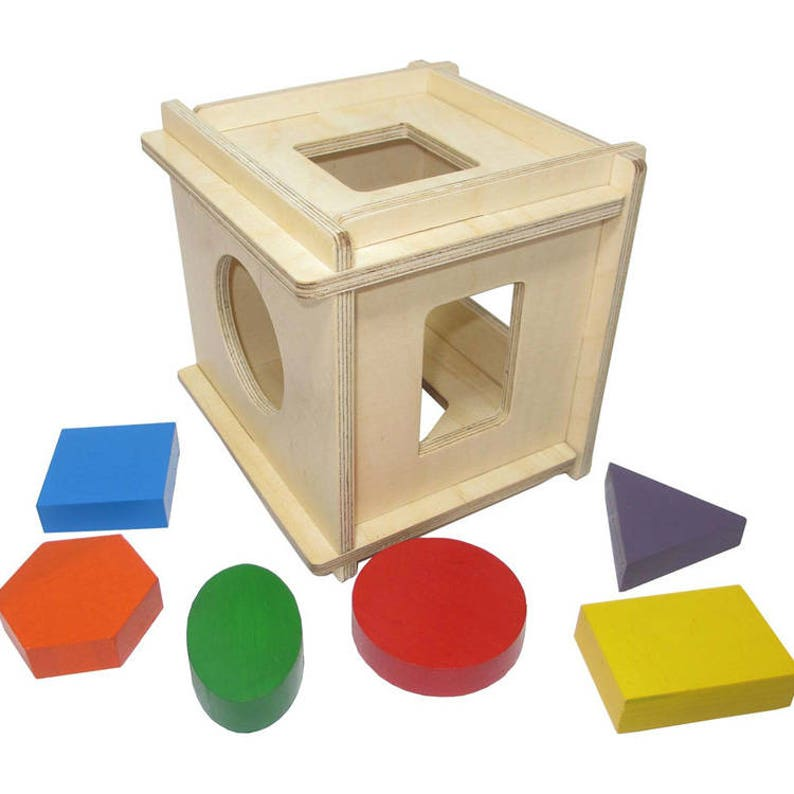 50fc0ab572e6a Simple sorter - Learning Toy - Montessori toddler toy - Toddler birthday  gift - Wooden toy - Educational toy