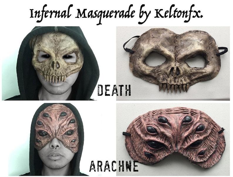 Infernal Masquerade Masks by KeltonFX. image 0
