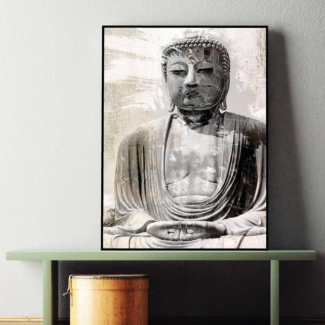Printable Art Downloadable buddha wall art buddha print | Etsy