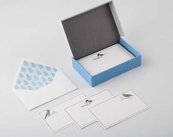 Blue Jay - Stationery Set