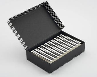 Black & White - Stationery Set