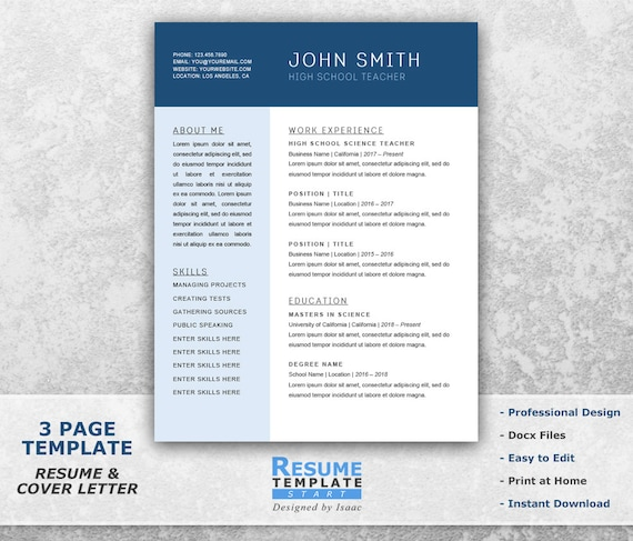 Chronological Resume Template Word Combination Resume Template For Word Resume Cover Letter Template Word Word Resume Template T30