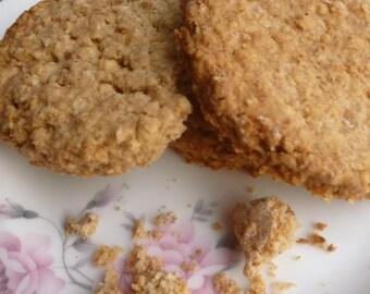 Gluten Free Sugar Free Oat Biscuits