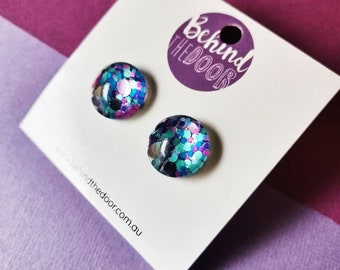 Lotsa Dots Glass Stud Earrings