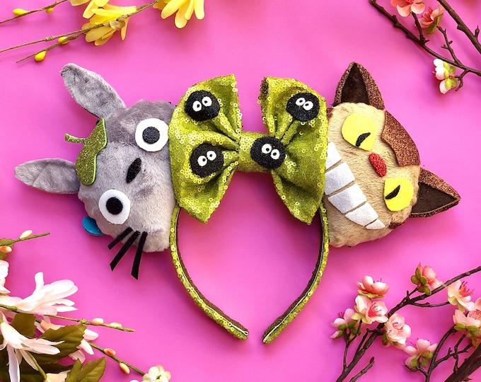 My Neighbor Totoro Inspired Ears