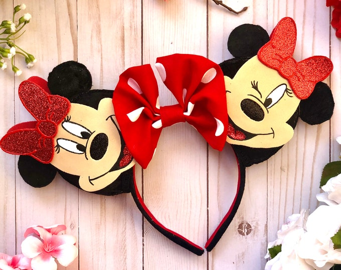 Minnie Mouse Expressions Inspired Ears