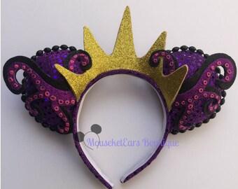 Ursula inspired Villain Mouse Ears