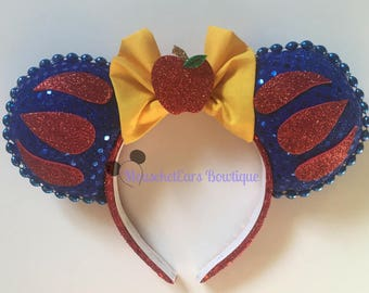 Princess Snow White inspired Mouse Ears