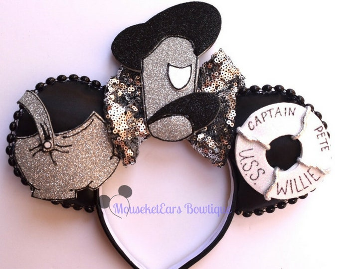 Captain Pete Inspired Mouse Ears