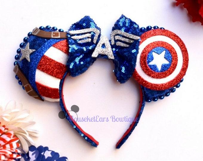 Captain America Inspired Ears