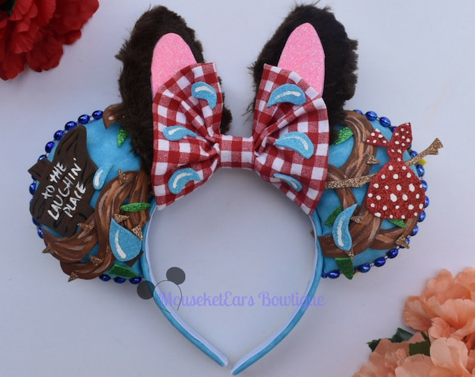 Splash Mountain inspired Mouse Ears