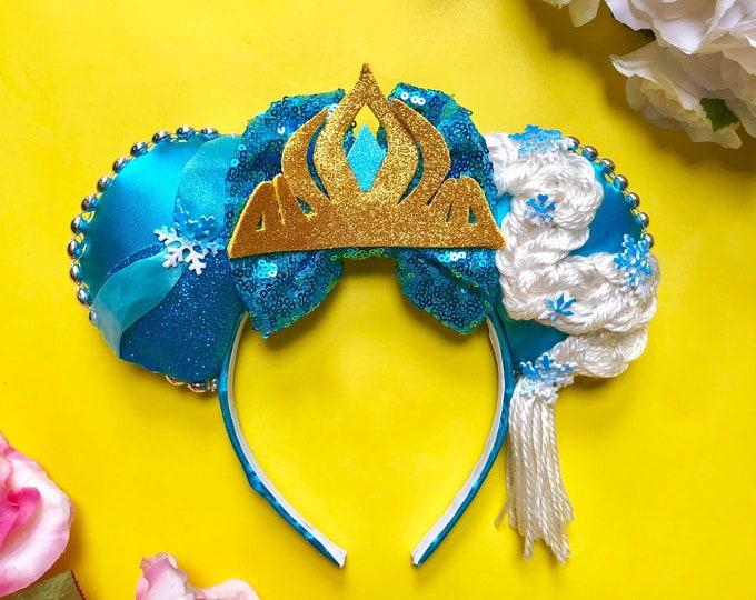 Frozen Elsa inspired Mouse Ears