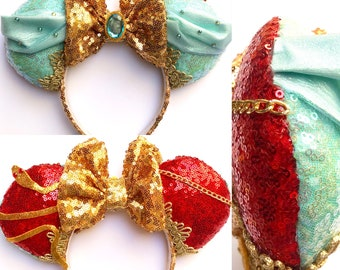 Double sided Jasmine inspired Mouse Ears