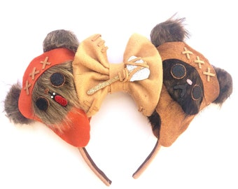 Ewok inspired Mouse Ears