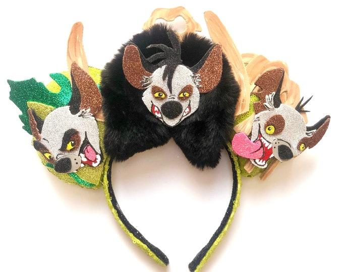 Hyenas inspired Mouse Ears