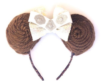 Princess Leia inspired Mouse Ears