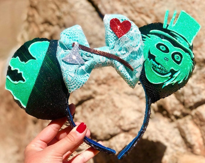 Hitchhiking Ghosts inspired Mouse Ears