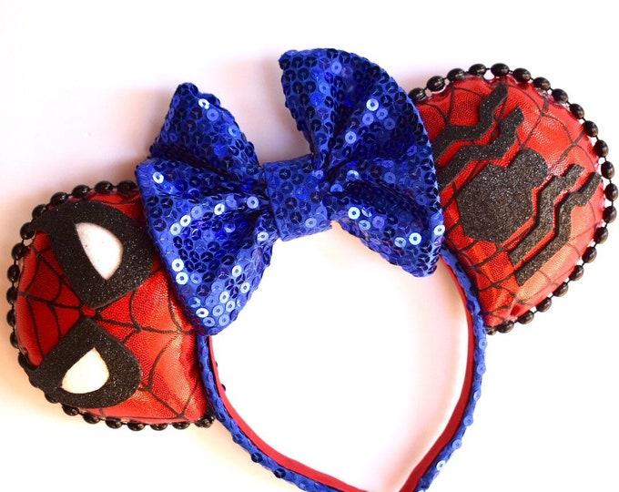 Spider-Man Inspired Ears
