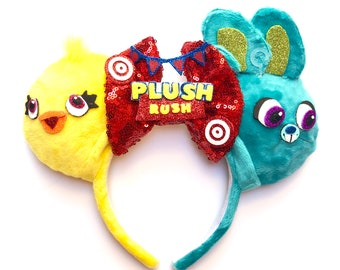 Ducky & Bunny inspired Mouse Ears