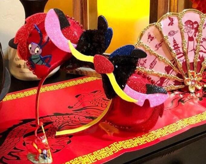 Mushu inspired Mouse Ears