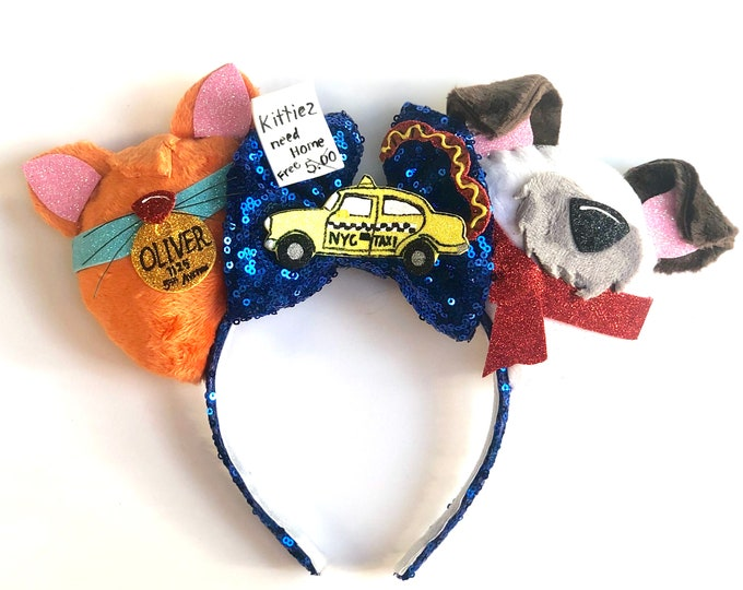 Oliver & Company inspired Mouse Ears