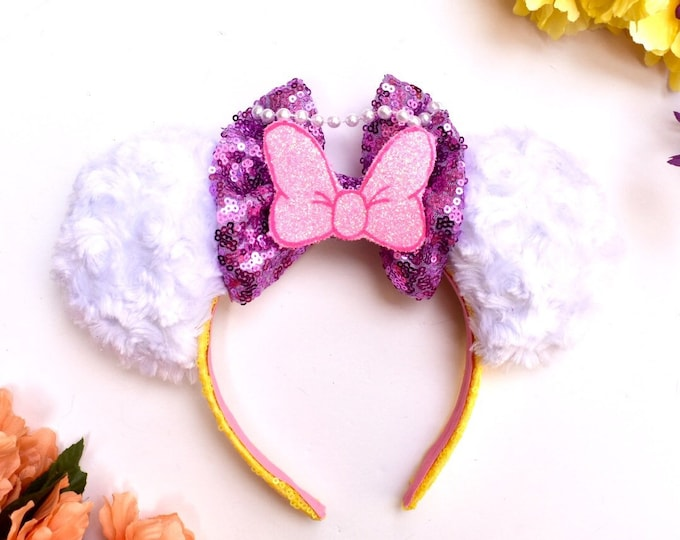 Daisy Duck inspired Mouse Ears