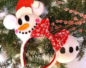 Snowman Mouse Ears