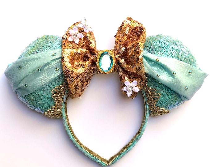 Princess Jasmine Inspired Mouse Ears
